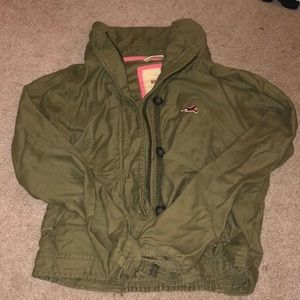 Army Green Hollister Jacket